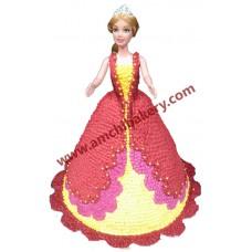 Doll cake/princess cake